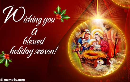seasons greetings | For Gods Glory Congregation